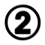 number-2-black-icon-2